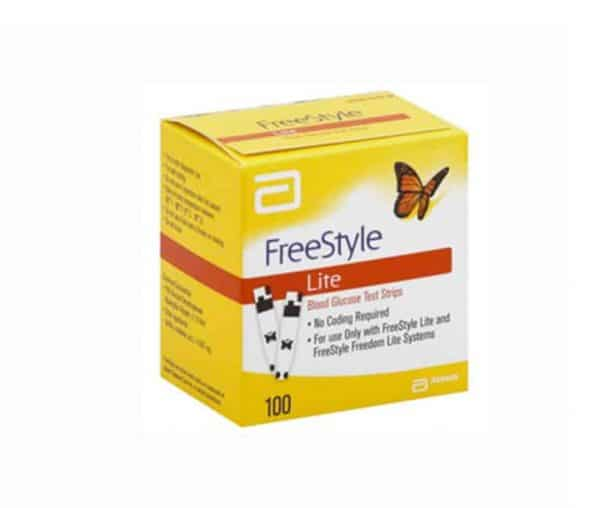 Two Moms Buy FreeStyle Lite 100 ct Retail - Two Moms Buy Test Strips