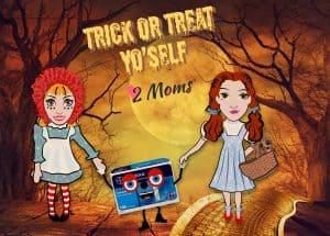 Two Moms Halloween Costumes