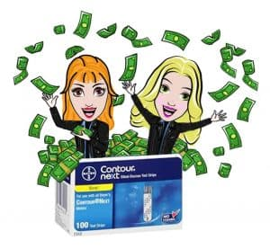 Two Moms Make it Rain Money - Sell Test Strips, Two Moms Buy Test Strips