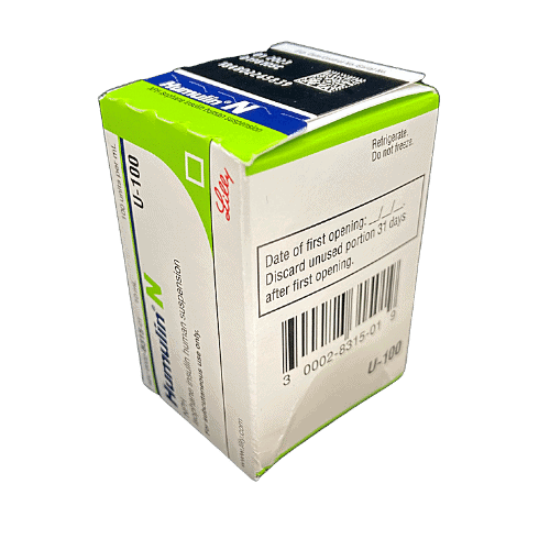 Two Moms Buy Test Strips - damaged condition Humulin - creasing